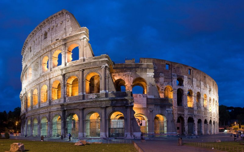 Trains to & from Rome | Colloseum in Rome