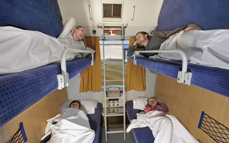 EuroNight | Trains in Europe | Book a berth in a shared cabin
