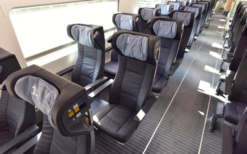 Trains Nuremberg to Munich - ICE 1st class