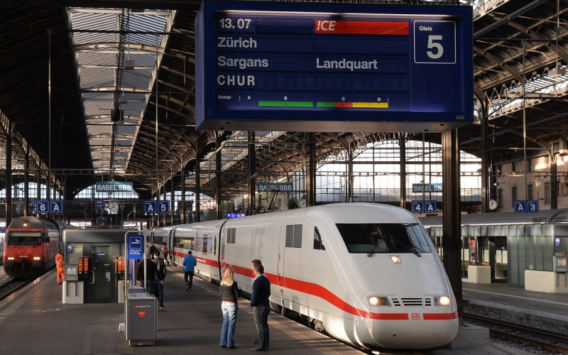 Trains in Europe -