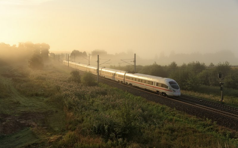 European train planner | High speed train