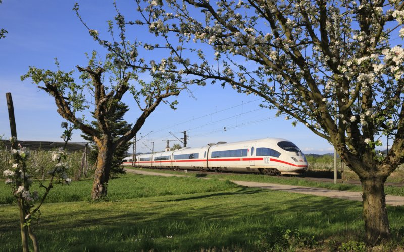 Trains to & from Amsterdam - ICE DB Bahn
