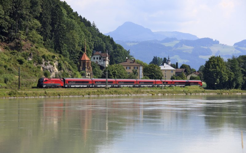 Group travel by train Europe