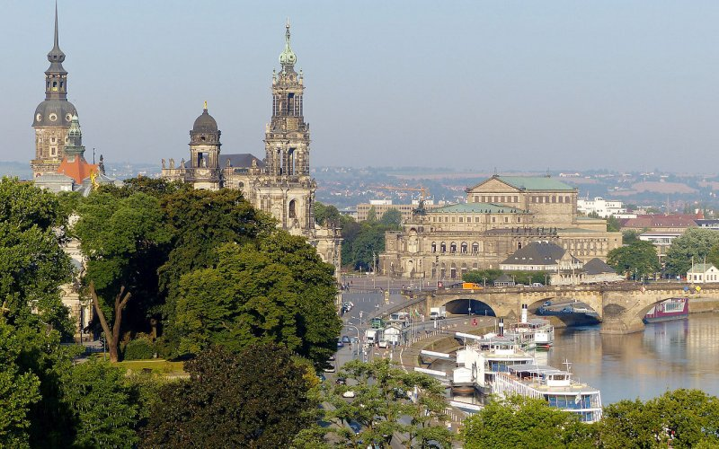 Trains to & from Dresden | Old town of Dresden