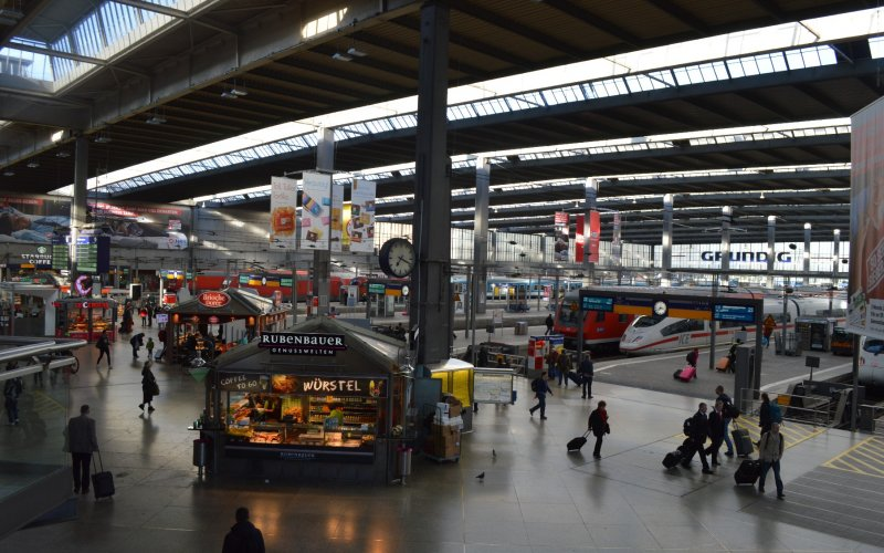 Trains to & from Munich | Munich Hauptbahnhof