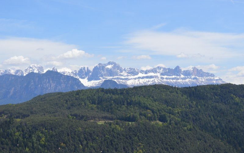 Trains to & from Bolzano | Magnificent view over the mountains