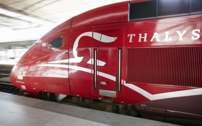 Trains to & from Brussels - Thalys arriving from Paris
