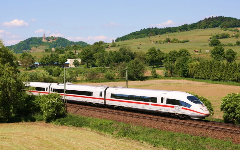 Train Travel in Europe - ICE Germany