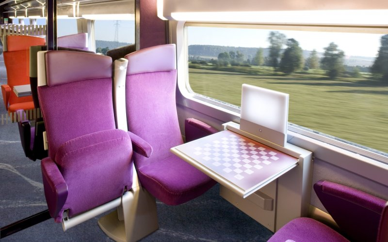 Trains Brussels to Lyon - TGV 2nd class