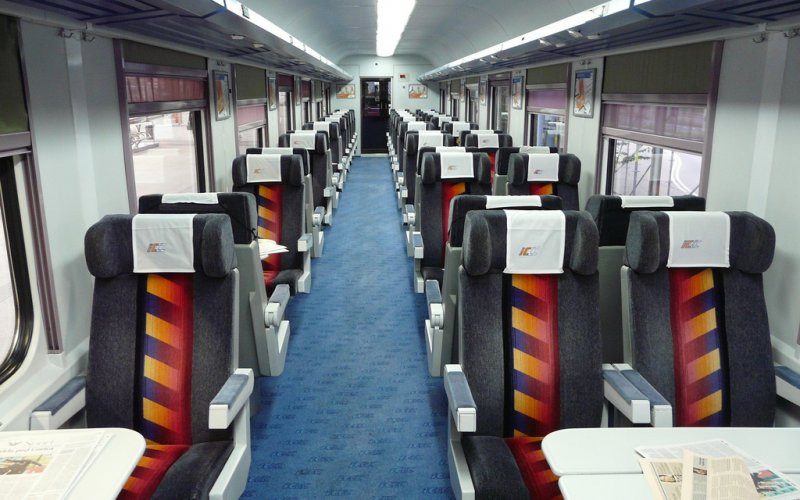 Train Reservations in Poland | All Reservations & Passes | Interior 1st class InterCity PKP