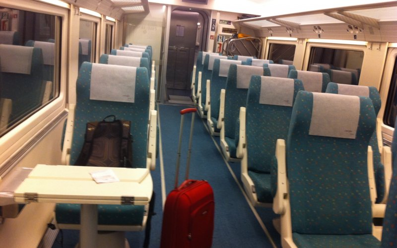 Euromed | Trains in Spain | 1st Class Preferente interior