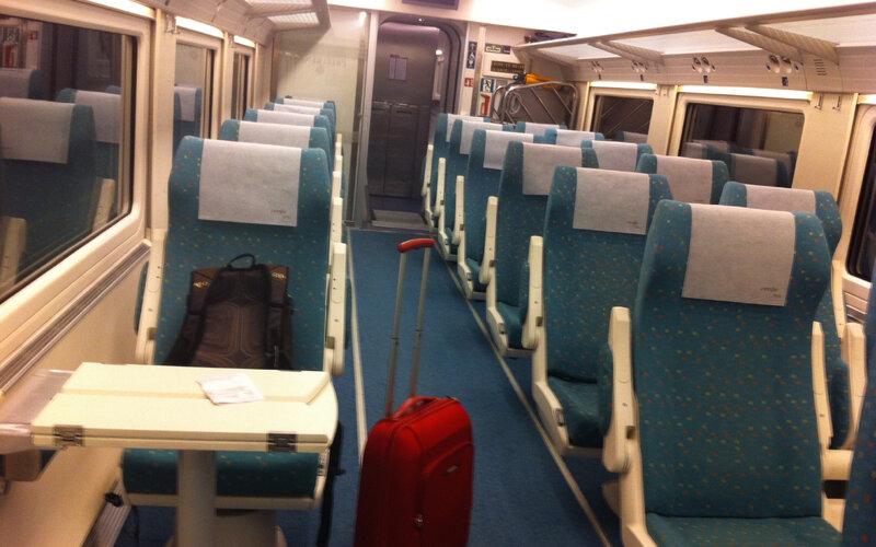 Euromed | Treinen in Spanje | 1e Klasse Preferente interieur