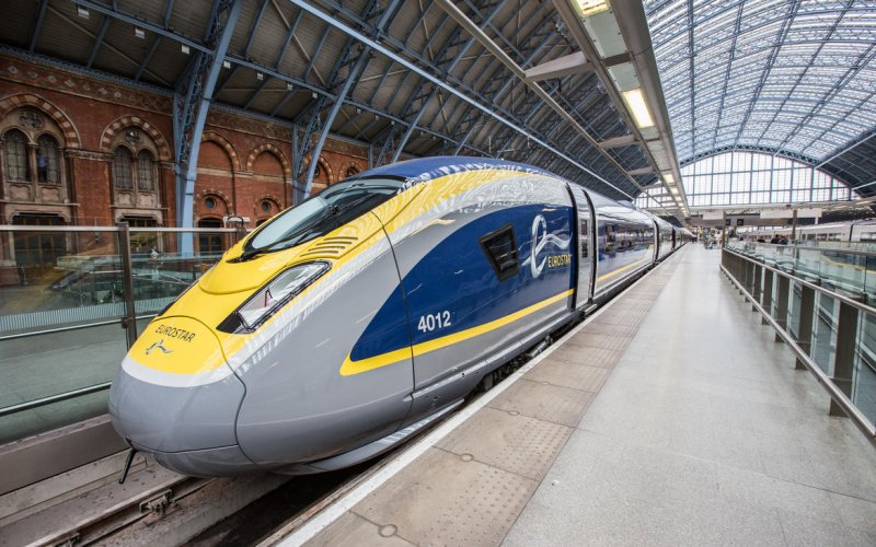 Train Travel in Europe - Travel on the Eurostar trains