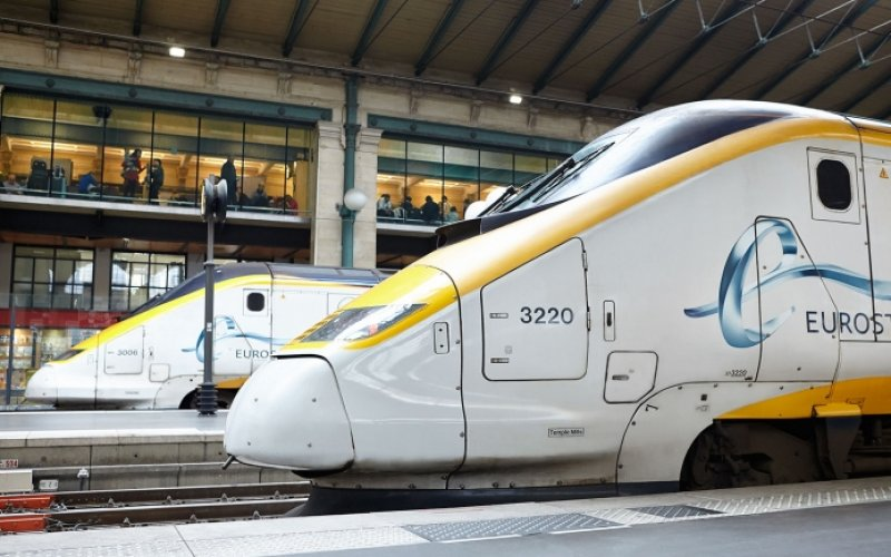 Trains to & from Brussels - Brussels connected by Eurostar