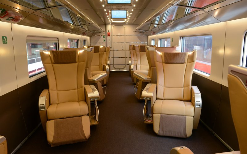 Trains Venice to Milan - Train Tickets Italy - Frecciarossa Executive Class