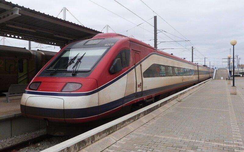 Treinpassen, treinkaartjes en treintickets - Trein naar Fara