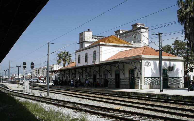Treinpassen, treinkaartjes en treintickets - Trein naar Faro