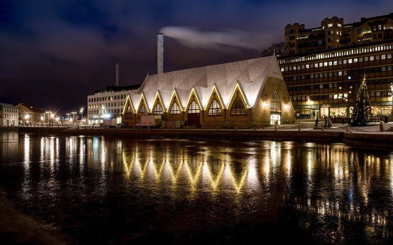 Treinen van en naar Goteborg | Feskekyrkan viscentrum
