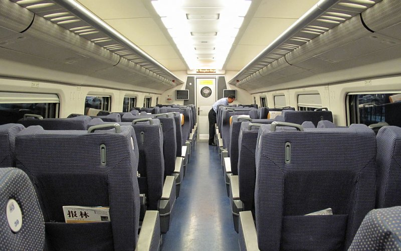 China by train | First class soft seat
