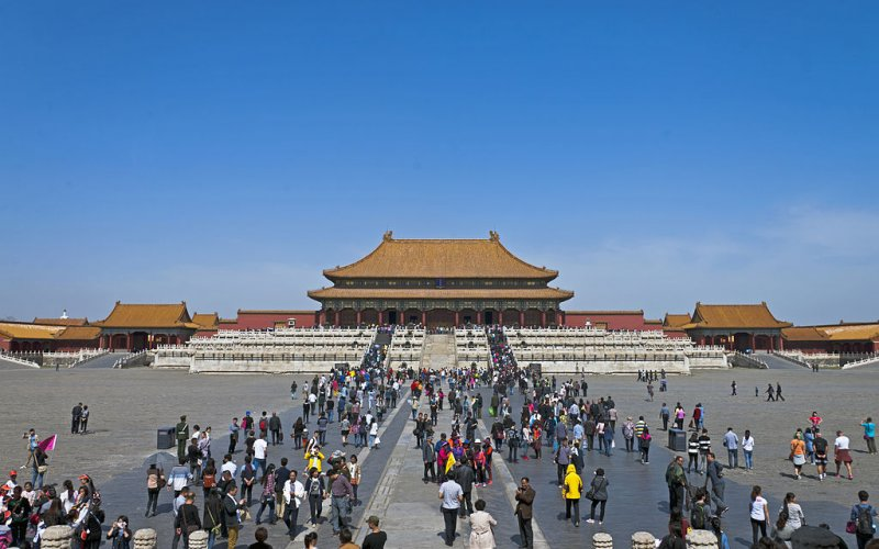 China by train | Forbidden City in Beijing