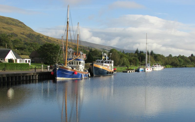 Trains to & from Fort William | Caledonian Canal