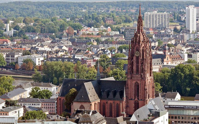 Trains to & from Frankfurt | Frankfurt am Main church