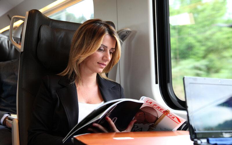 Frecciargento | Trains in Italy | Interior 1st class