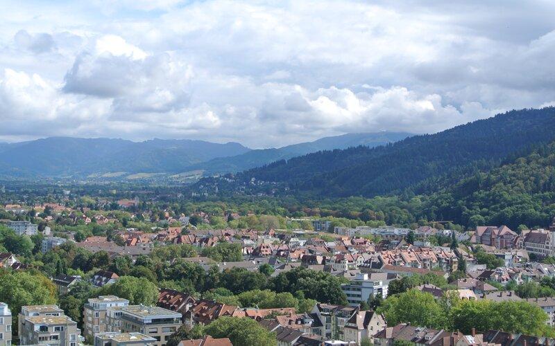 Trains to & from Freiburg | Freiburg im Breisgau, Mountains