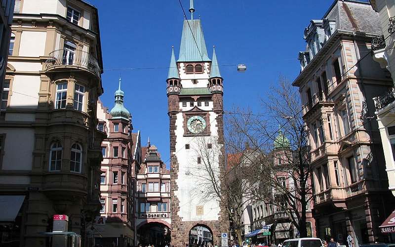 Trains to & from Freiburg | City centre
