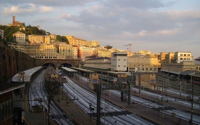 Trains to & from Genoa | Train station Genoa Piazza Principe