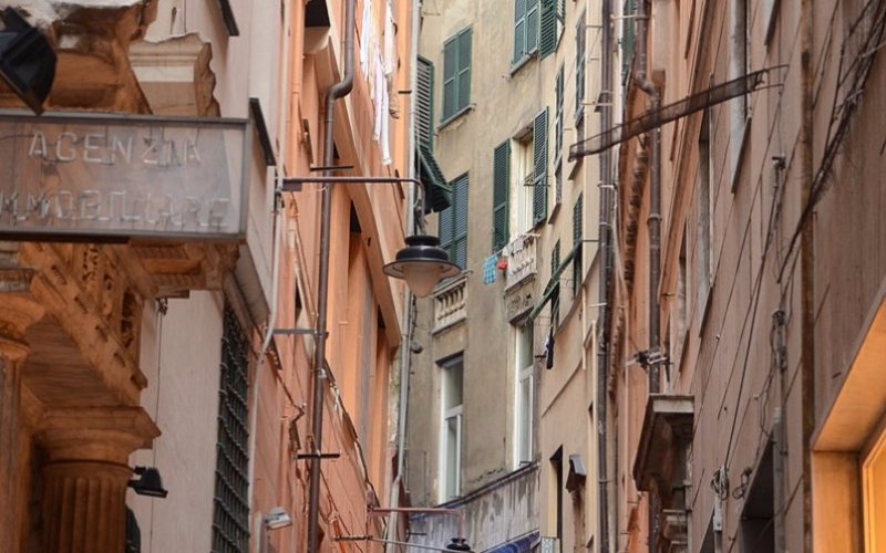 Trains to & from Genoa | Streets of Genoa