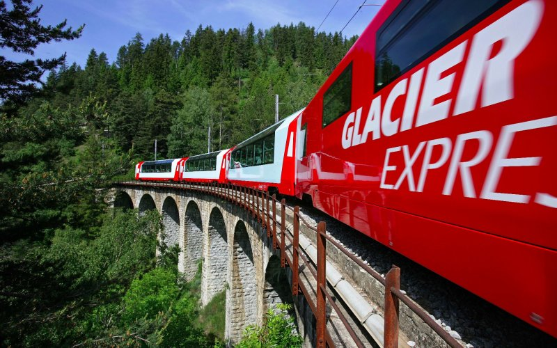 Glacier Express - Switzerland scenic routes - Train tickets and rail passes