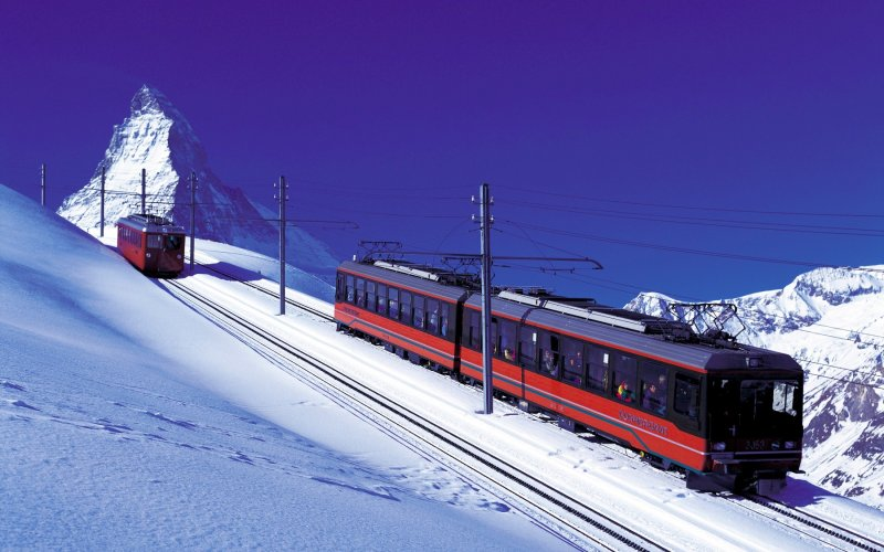 Gornergrat Bahn - Switzerland - Train tickets and rail passes