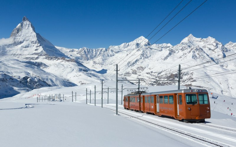 Travel by Gornergrat train - Cheap Train Tickets Switzerland
