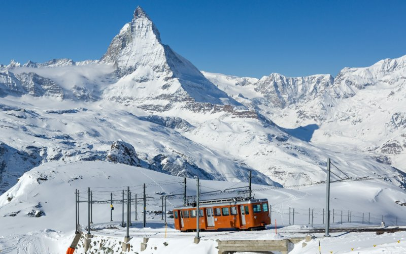 Gornergrat Bahn - Switzerland - Train tickets and rail passes - Winter