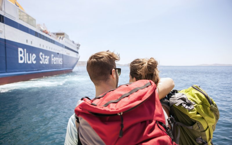 Book Your Eurail/Interrail Adventure at HappyRail | Trip Itineraries for Eurail | Greek Ferries Blue Star Line