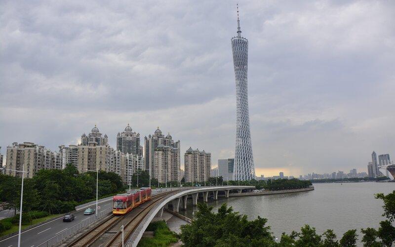 China by train | Guangzhou transit system