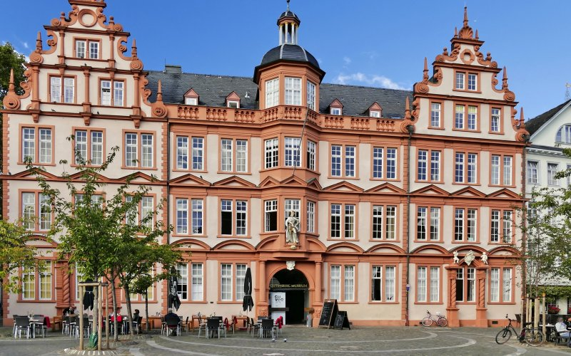Trains to & from Mainz   Gutenberg Museum in Mainz