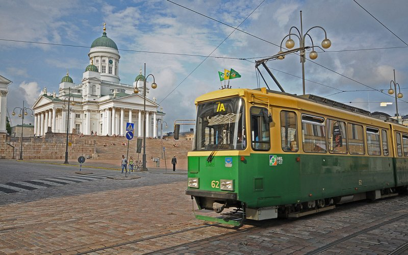 Visit Helsinki by train - All train tickets and rail passes