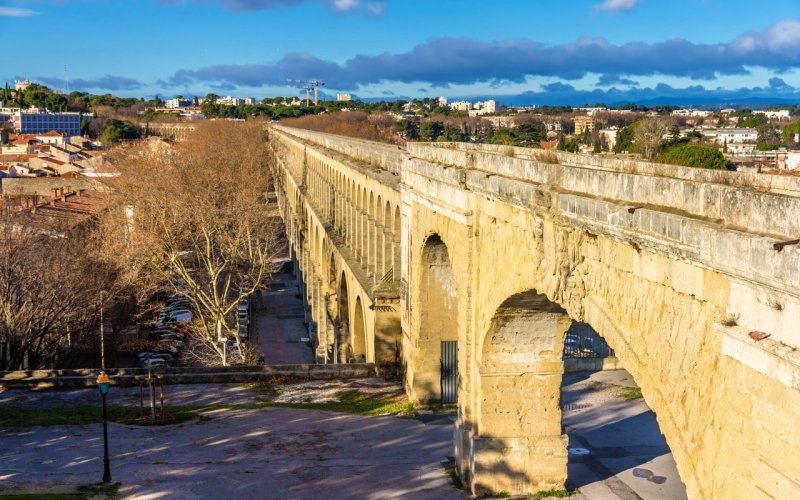 Trains to & from Montpellier | city view