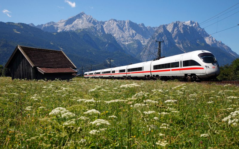 Travel on the ICE trains - All train tickets and rail passes
