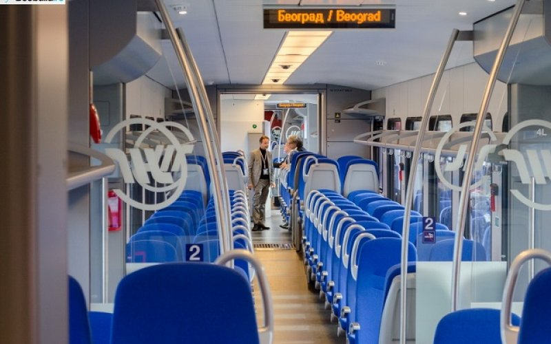Train Reservations in Serbia   All Reservations & Passes   ICS InterCity Beograd Serbia 2nd class interior