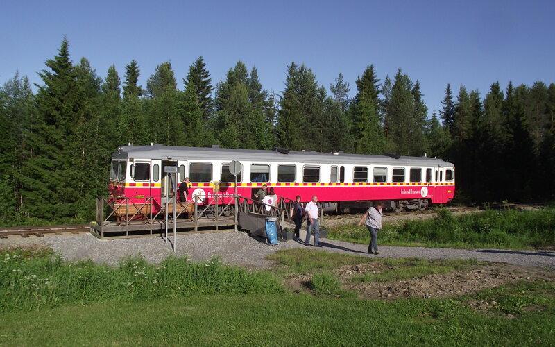Inlandsbanan | Trains in Sweden | Asarna railway station