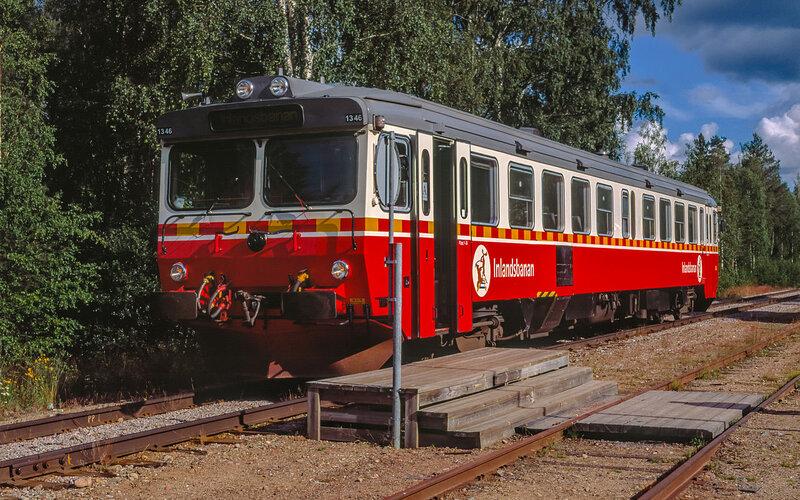 Inlandsbanan | Trains in Sweden | Fagelsjo railway station