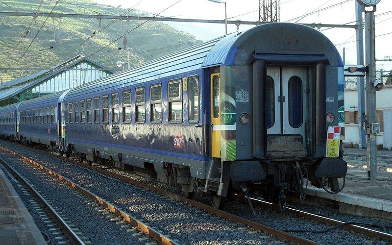 Intercité de Nuit | Night Trains France | Train at arrival in the final destination