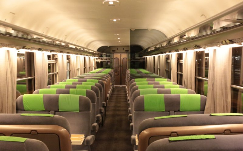 Intercité de Nuit | Night Trains France | Interior seats 2nd class
