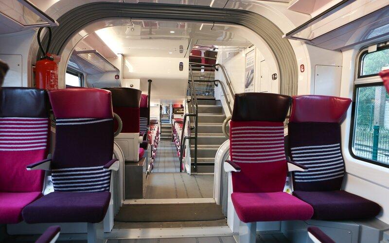 Intercité | Trains in France | 2nd class interior