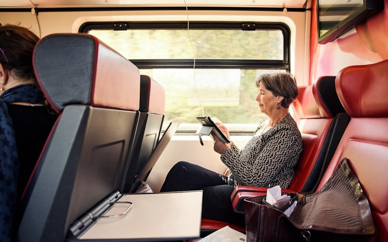 Train Reservations in The Netherlands | All Reservations & Passes | 1st class interior InterCity Direct The Netherlands