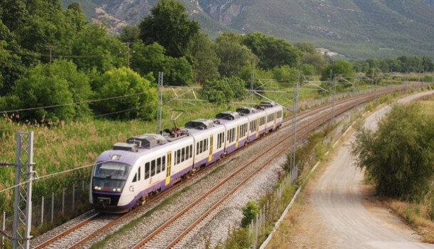 InterCity Greece | Trains in Greece | InterCity on its way through Greece