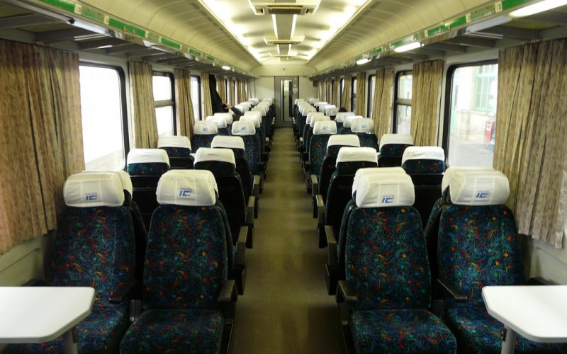 InterCity Hungary | Trains in Hungary | 2nd class interior